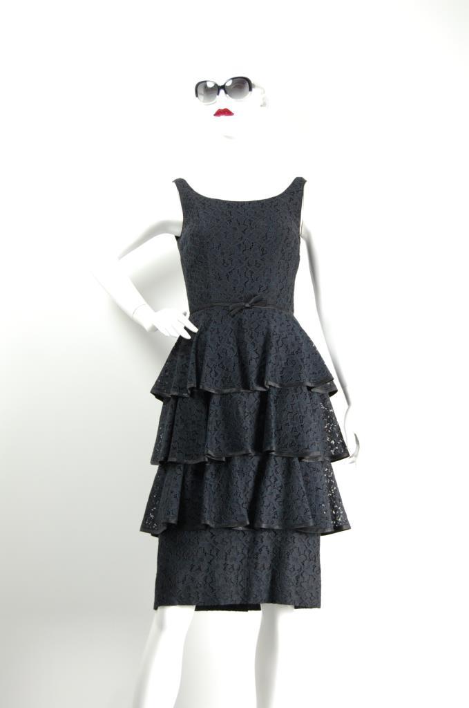 ADR001266 ティアードスカートドレス