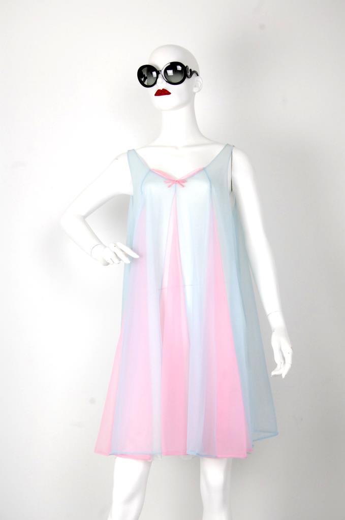 ADR001514 ブルーピンクドレス