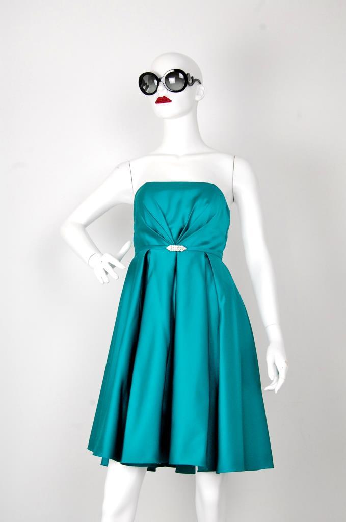 ADR001526 エメラルドグリーンドレス