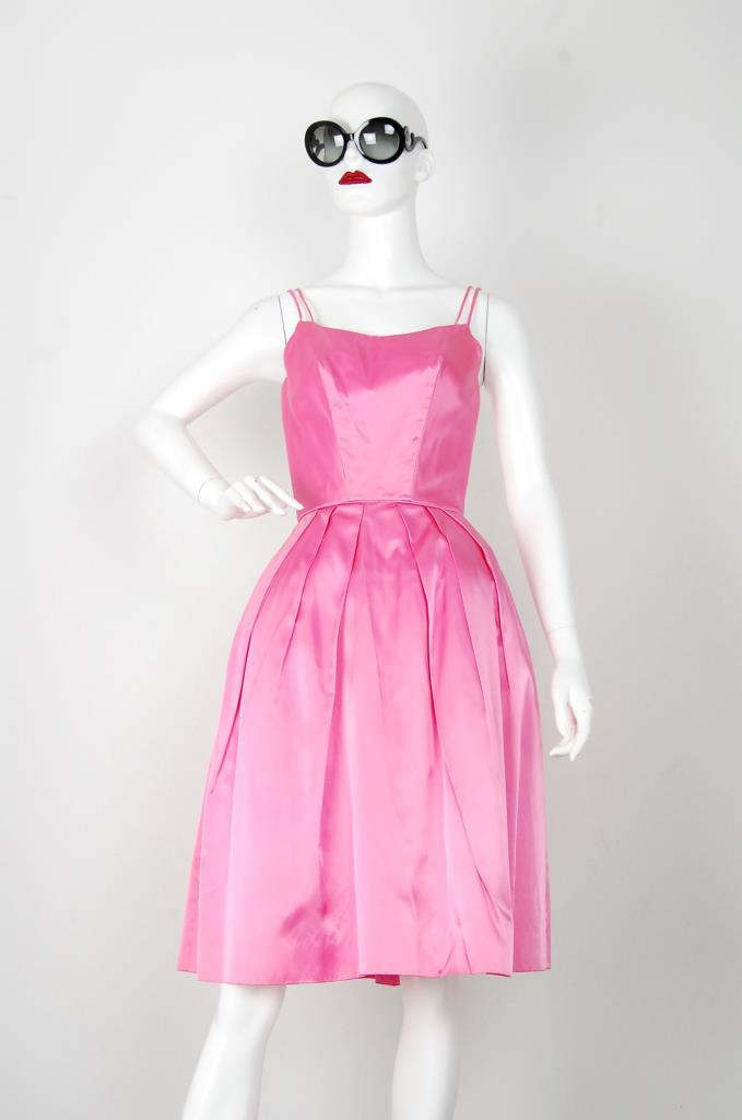 ADR001529 ピンクタックスカートドレス