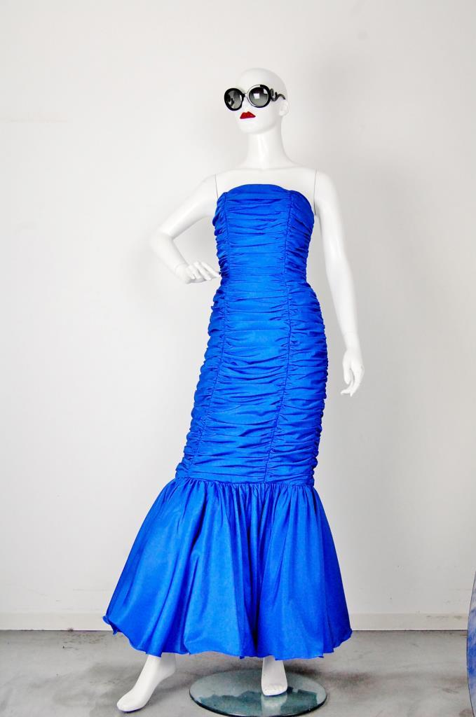 ADR001544 ブルーマーメイドドレス
