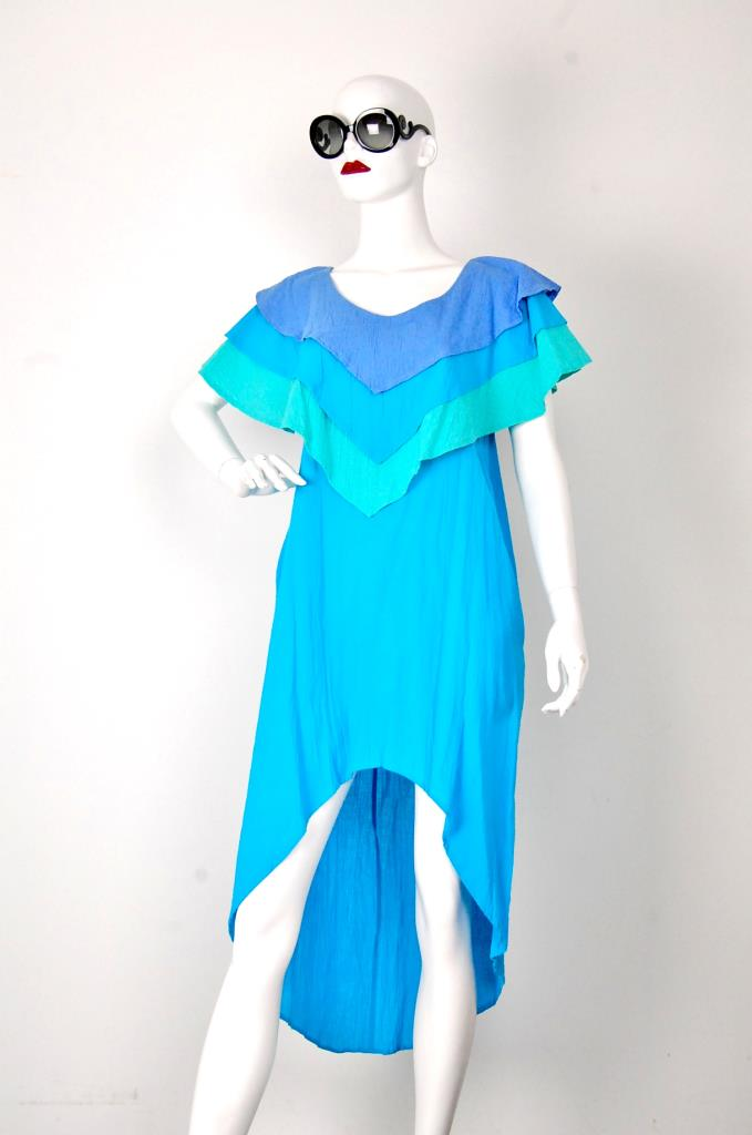 ADR001546 ブルーグラデーションドレス