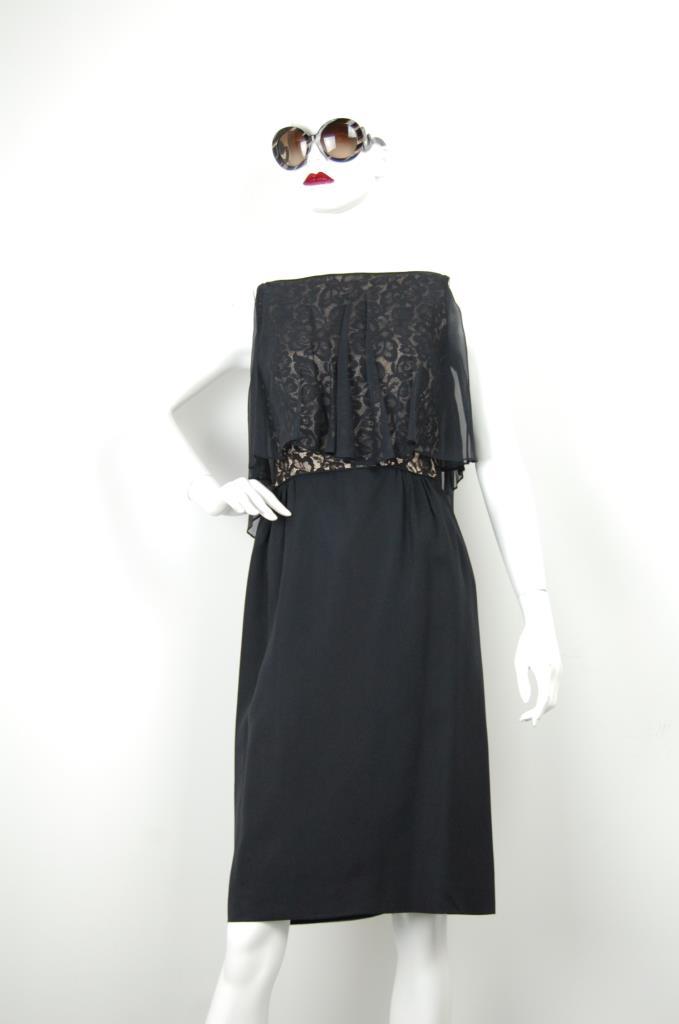 ADR001662 ブラックレースドレス