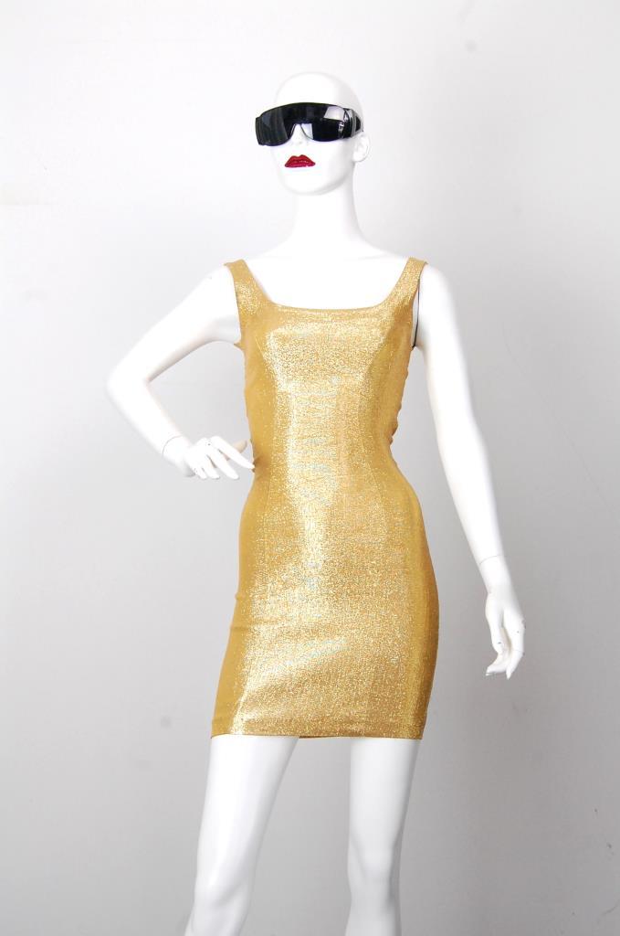 ADR001690 ゴールドドレス
