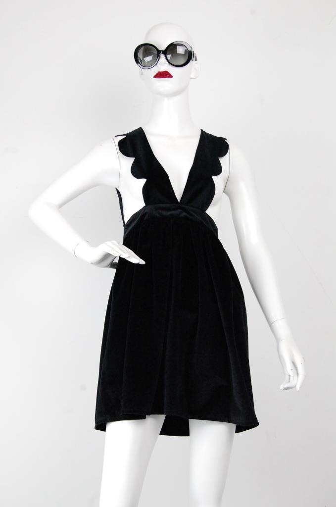 ADR001699 ブラックジャンパースカート