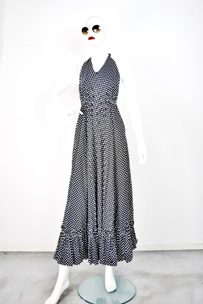 ADR001750 ブラックチェック柄ドレス
