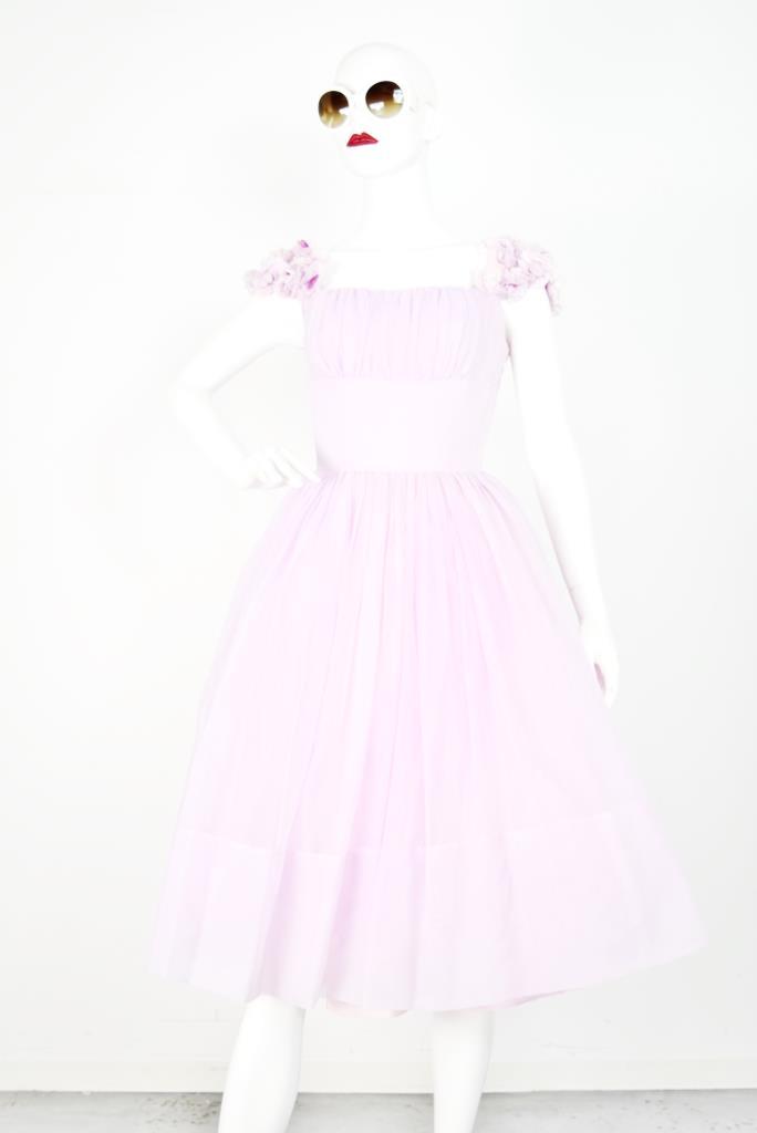 ADR001755 ピンクギャザードレス