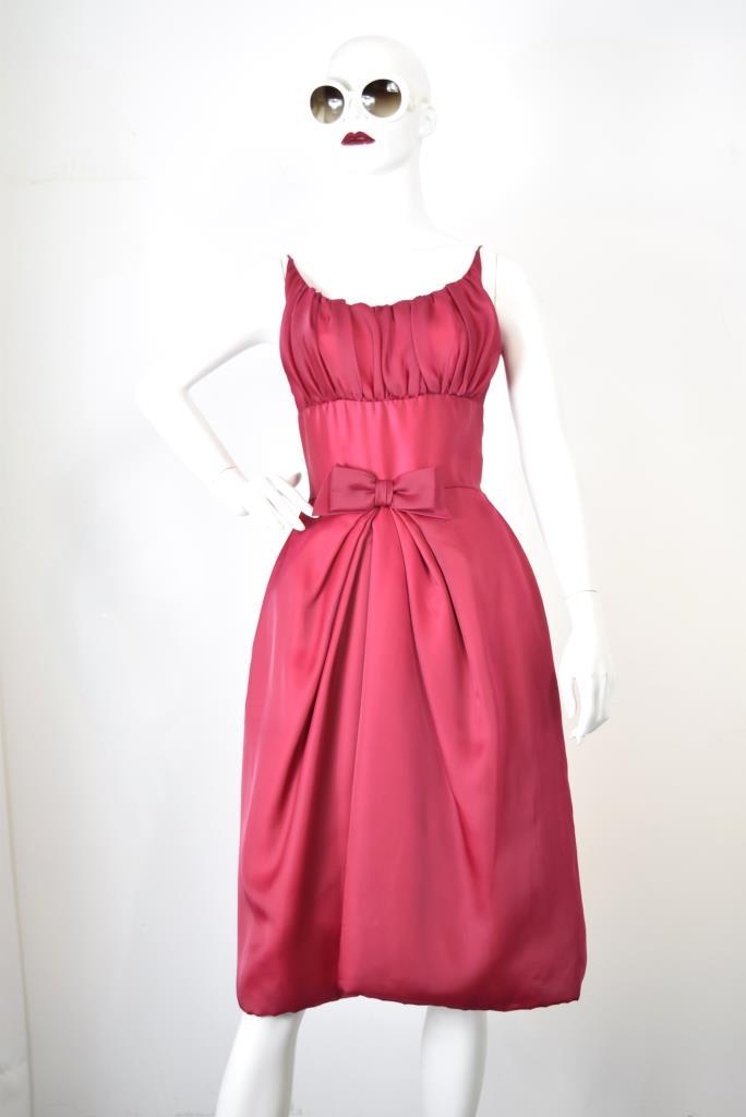 ADR001784 レッドリボンドレス