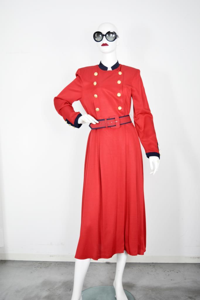 ADR001818 レッドナポレオンドレス
