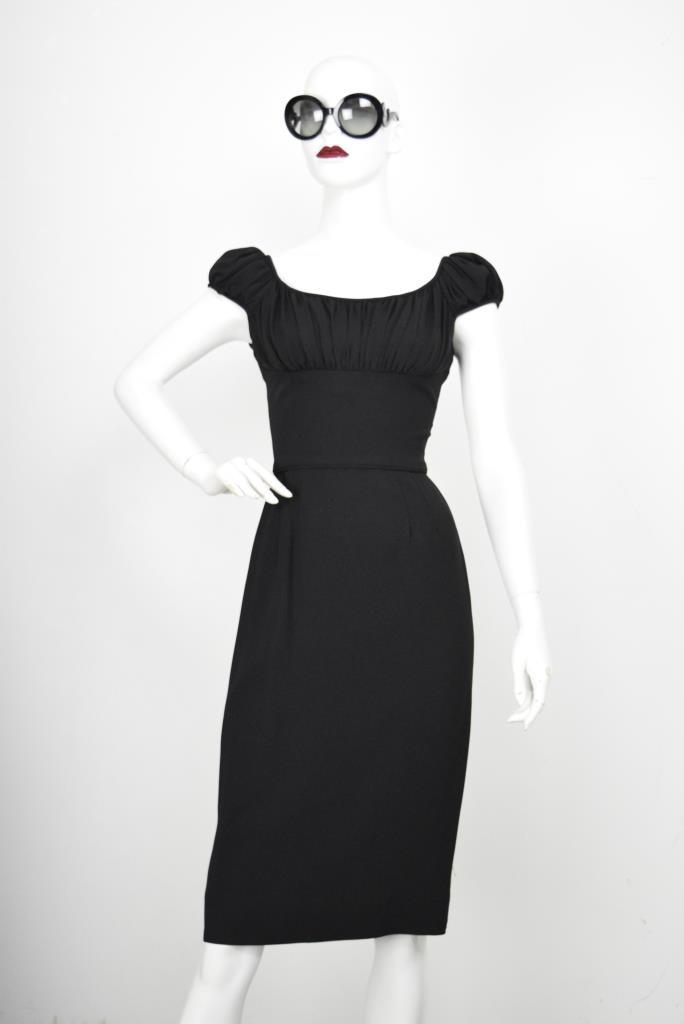 ADR001829 ブラックドレス