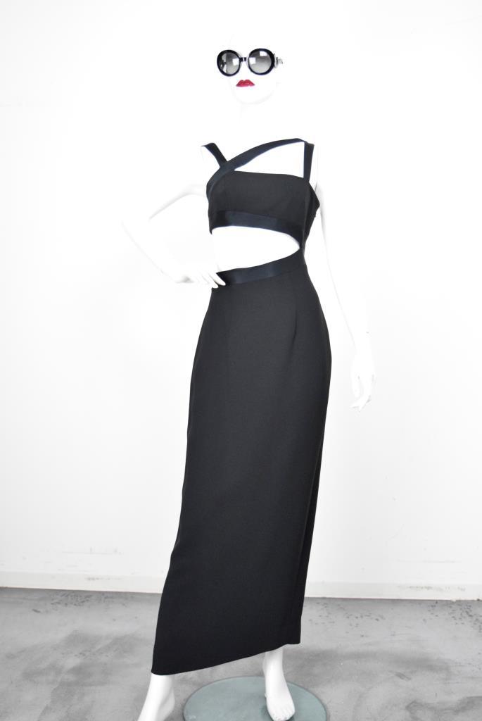 ADR001839 ブラックドレス