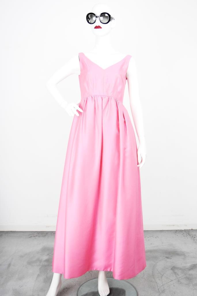 ADR001849 ピンクギャザースカートドレス
