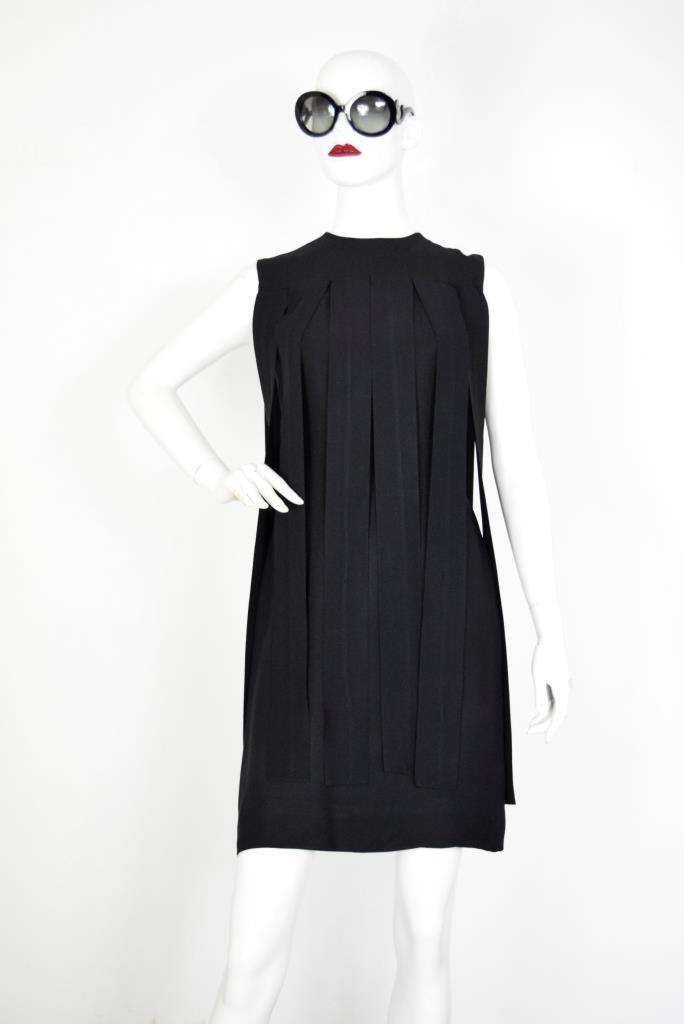 ADR001869 ブラックスラッシュドレス