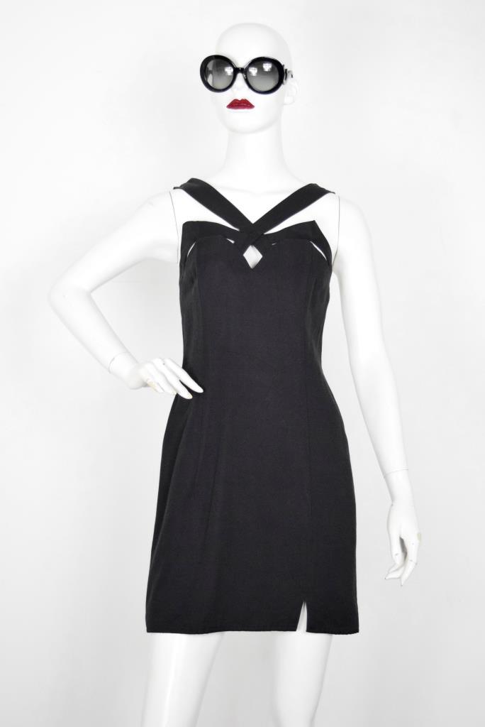 ADR001873 ブラックドレス