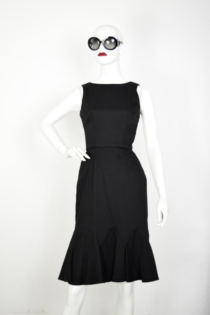ADR001874 ブラック切り替えドレス
