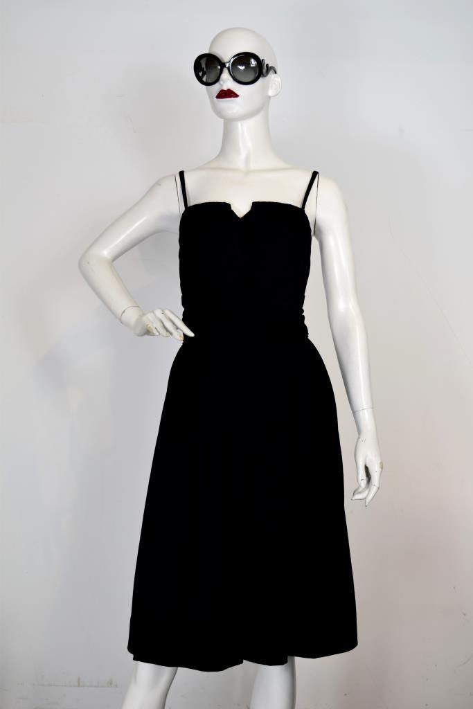 ADR001959 ブラックキャミソールドレス