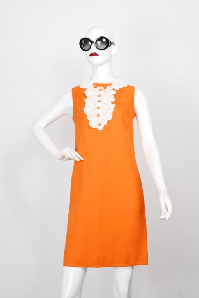ADR001966 オレンジドレス