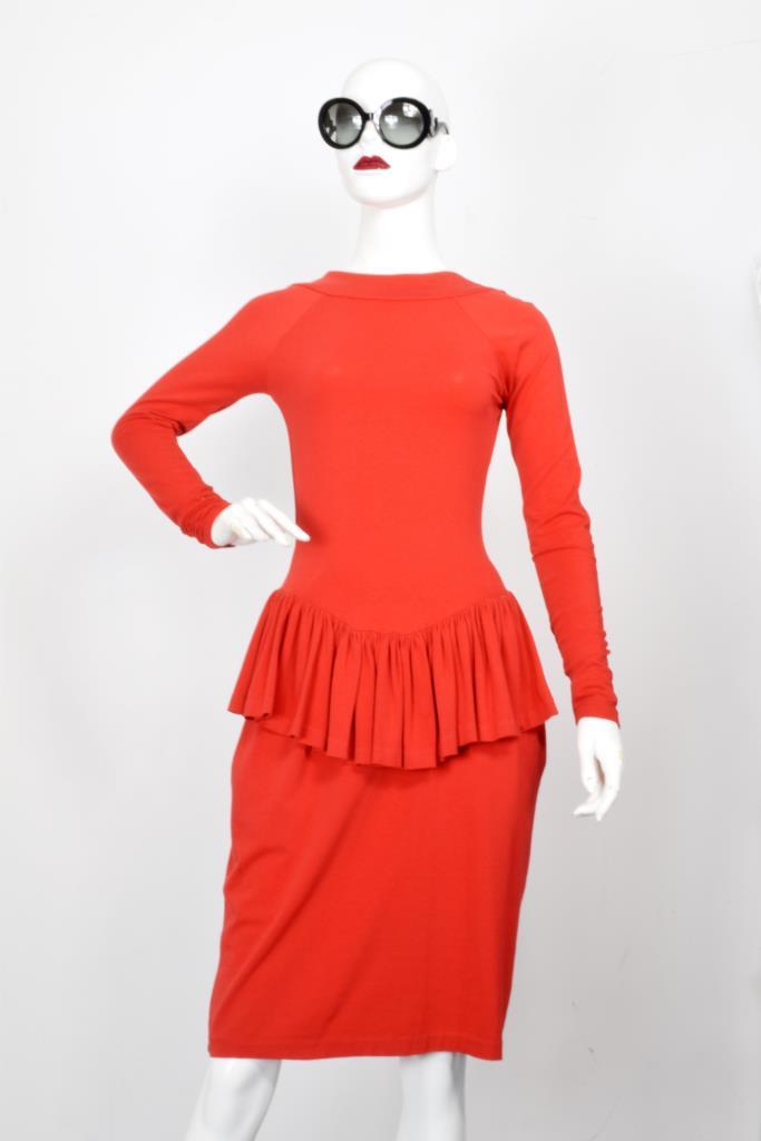 ADR001978 レッドバックオープンドレス
