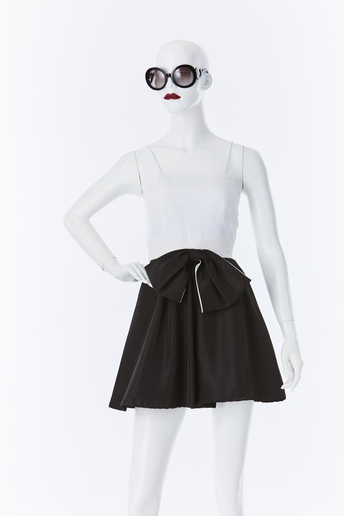 ADR500027 ウエストリボンキャミドレス