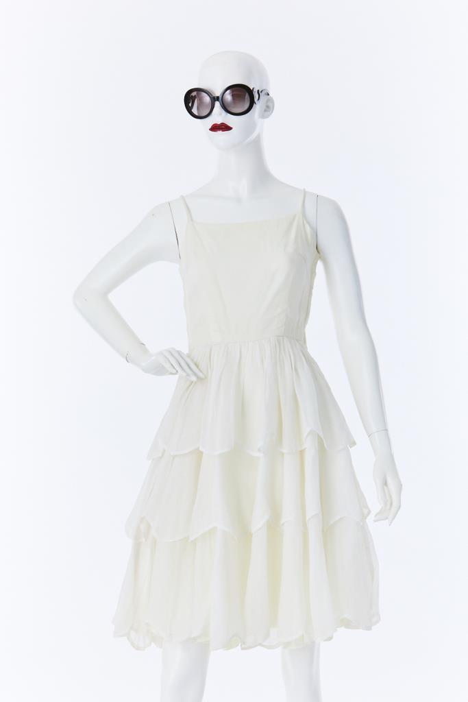 ADR500031 ティアードスカートドレス