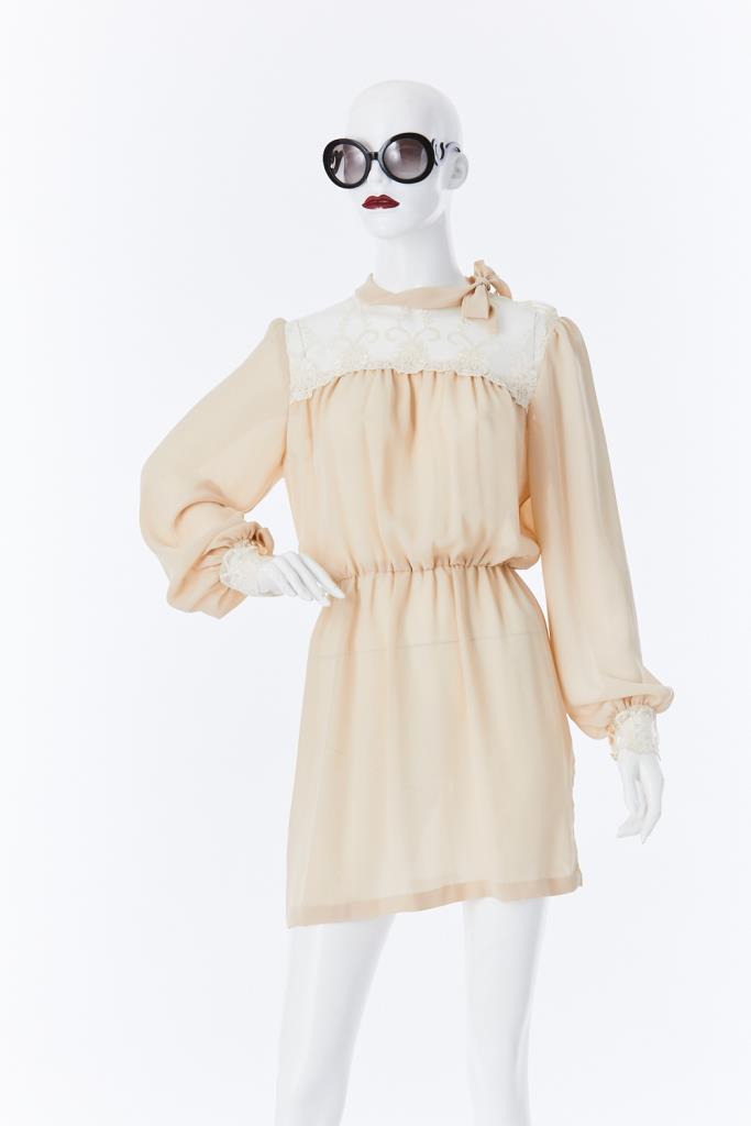 ADR500033 ネックリボンドレス