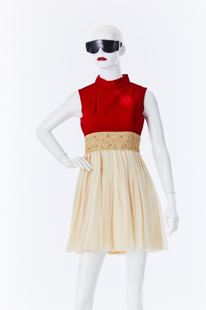 ADR500096 ハイネックドレス