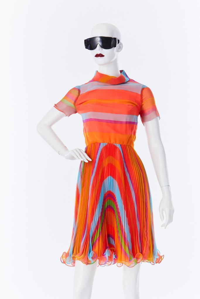ADR500103 プリーツスカートドレス