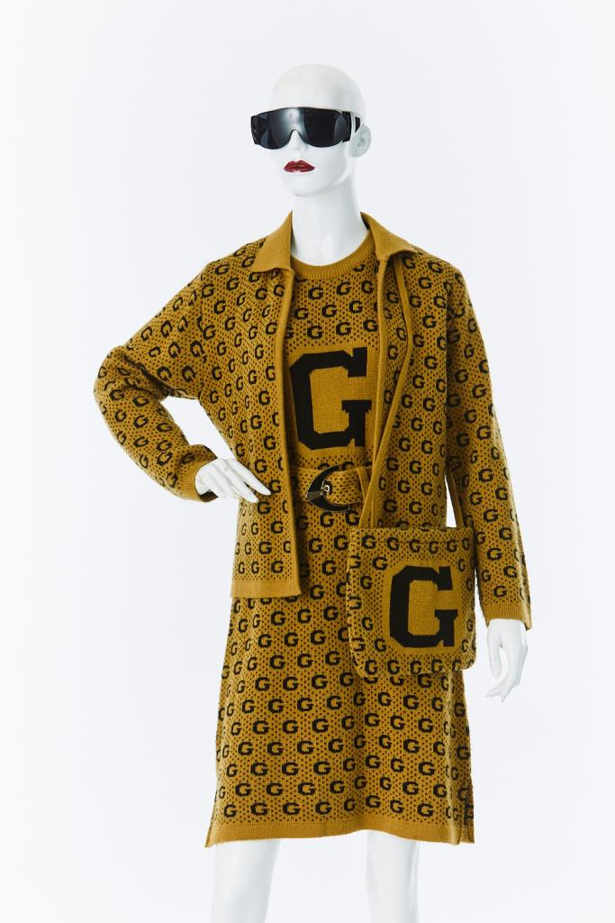 ADR500117 GUCCIニットドレス
