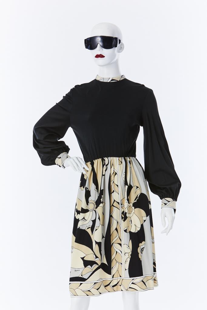 ADR500128 花柄スカートドレス