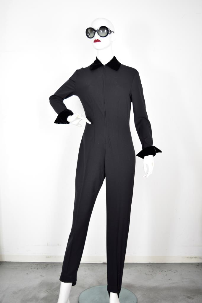 AJU001820 ブラックジャンプスーツ