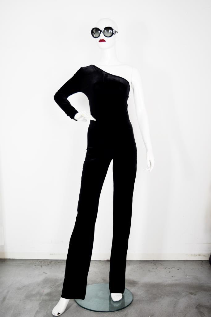 AJU001821 ブラックジャンプスーツ