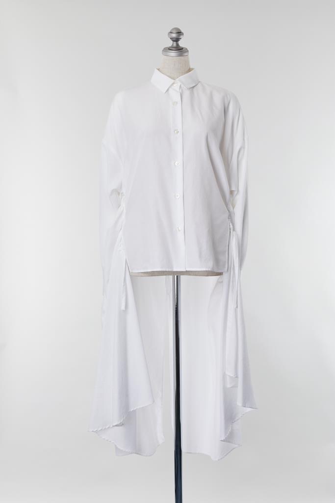 DR100008 CLANE シャツロングドレス