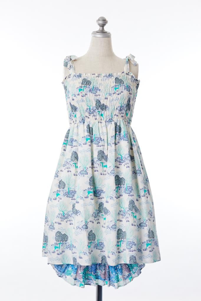DR100010 PAUL&JOE SISTER 花柄ドレス