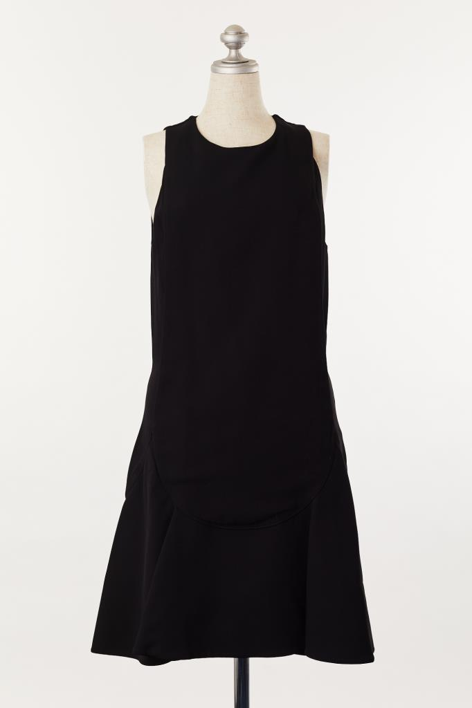 DR100034 GIVENCHY ブラックドレス
