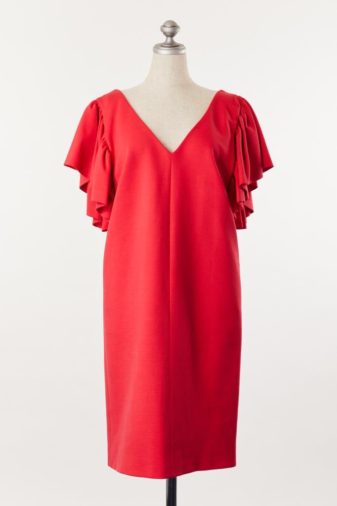 DR100047 MSGM レッドドレス