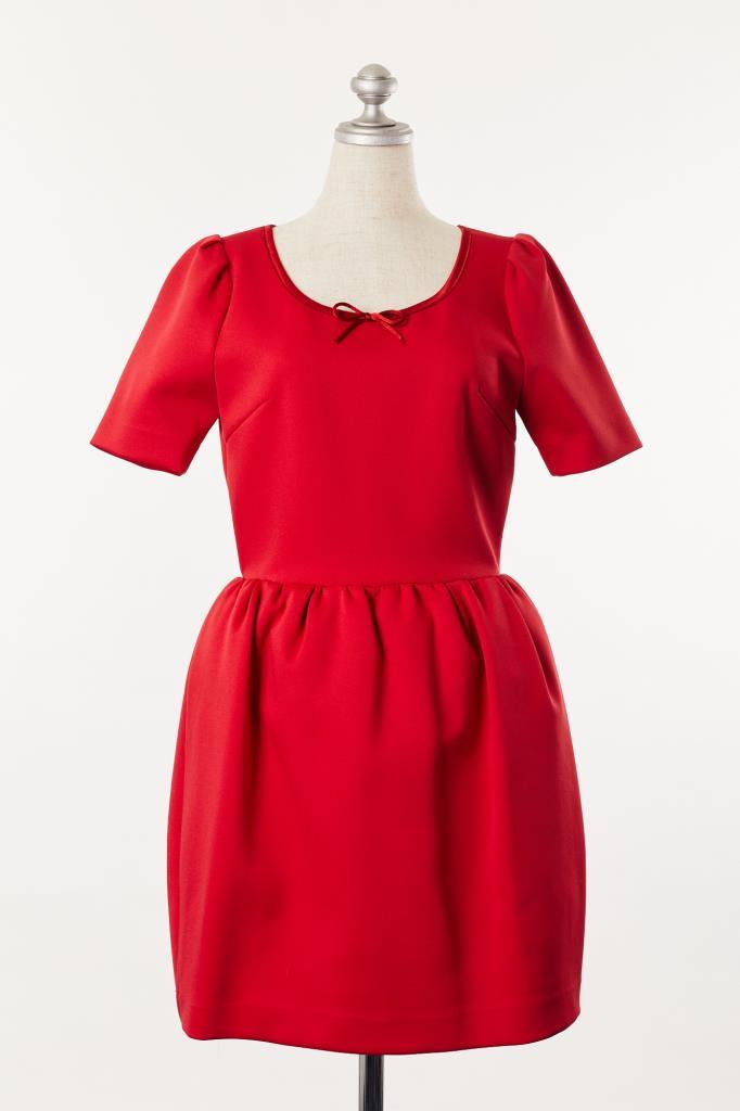DR100051 Snidel レッドドレス