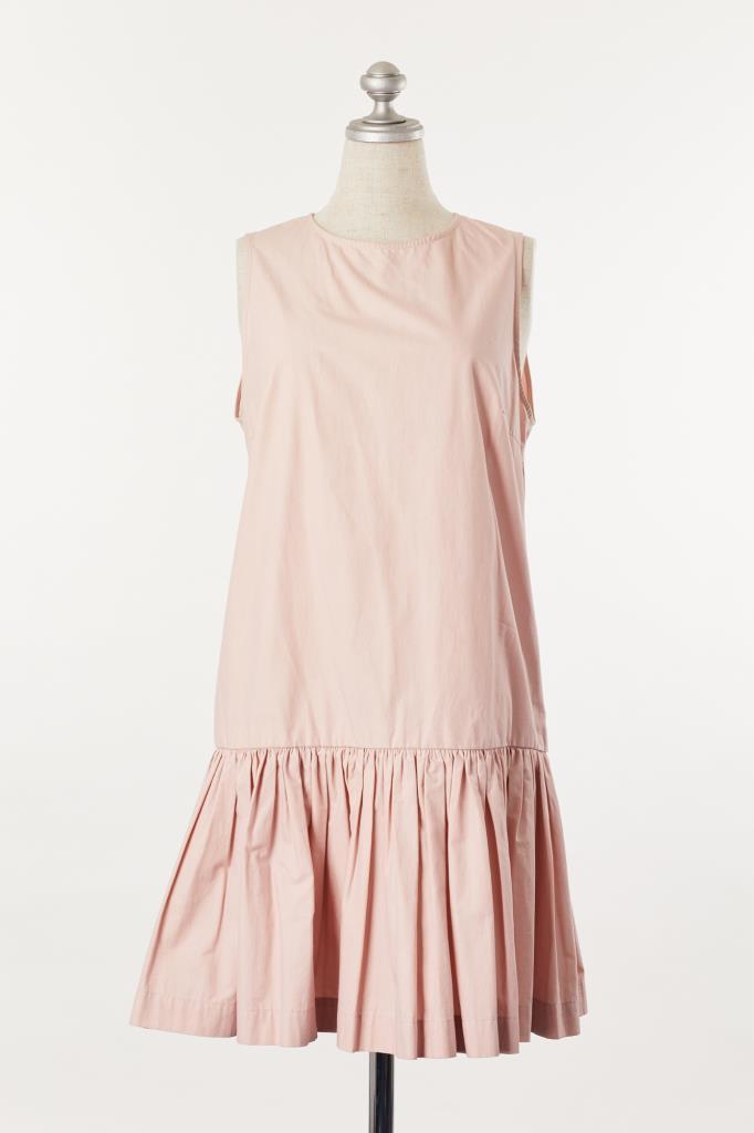 DR100058 MSGM 薄ピンクドレス