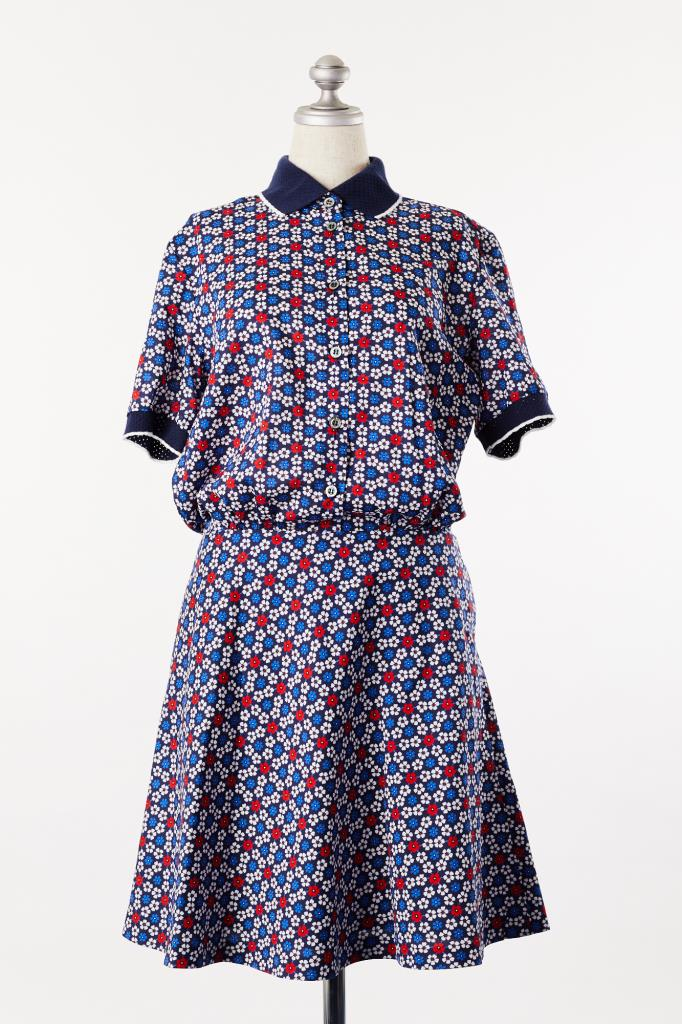 DR100115 PAUL&JOE SISTER 花柄ドレス
