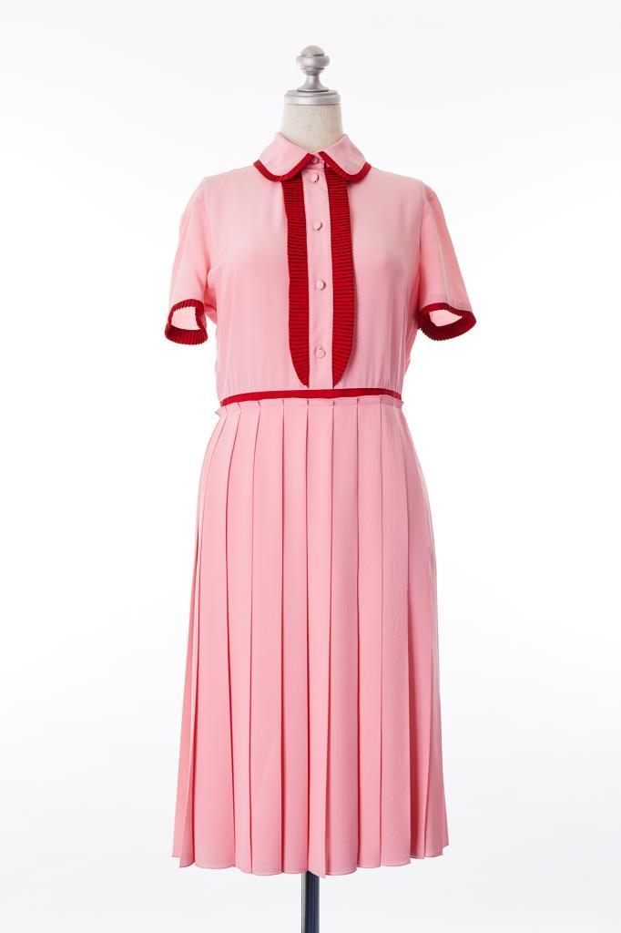 DR100159 GUCCI ピンクドレス
