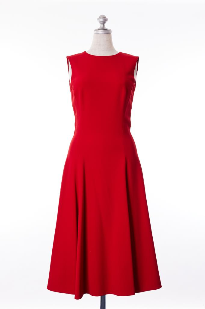 DR100175 DOLCE&GABBANA レッドドレス