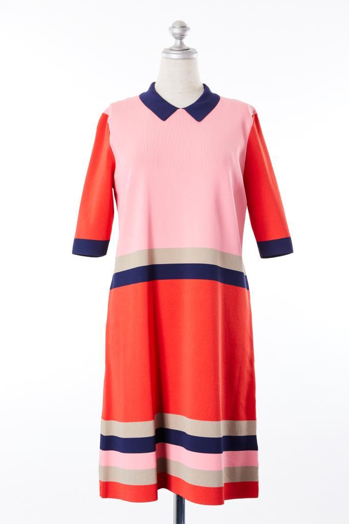 DR100176 TED BAKER LONDON 衿付きドレス