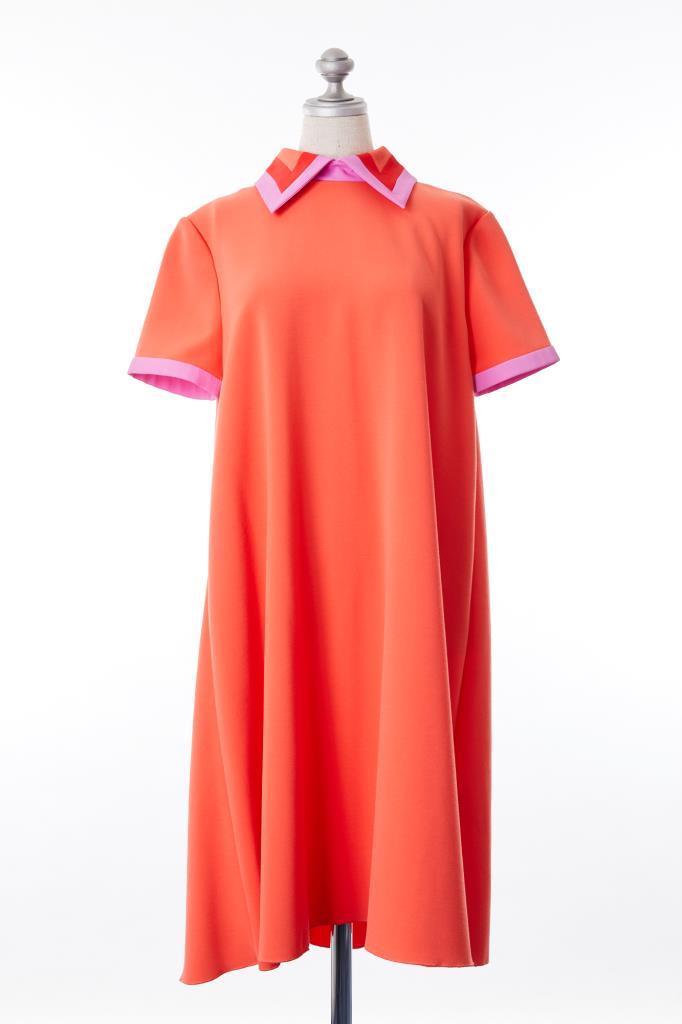 DR100178 ROKSANDA オレンジドレス