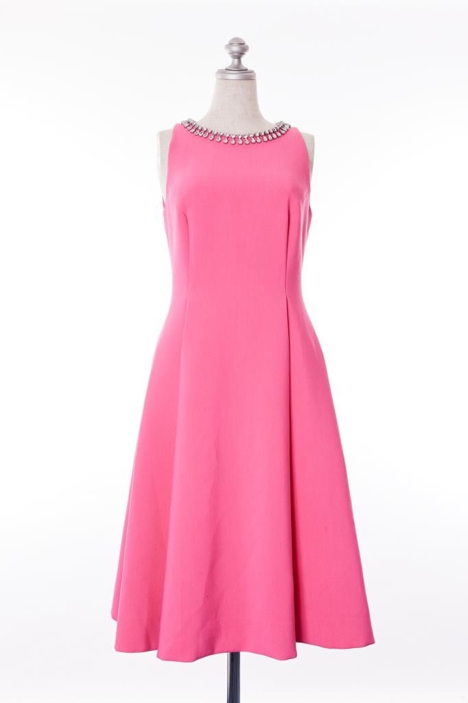 DR100183 kate spade ピンクドレス
