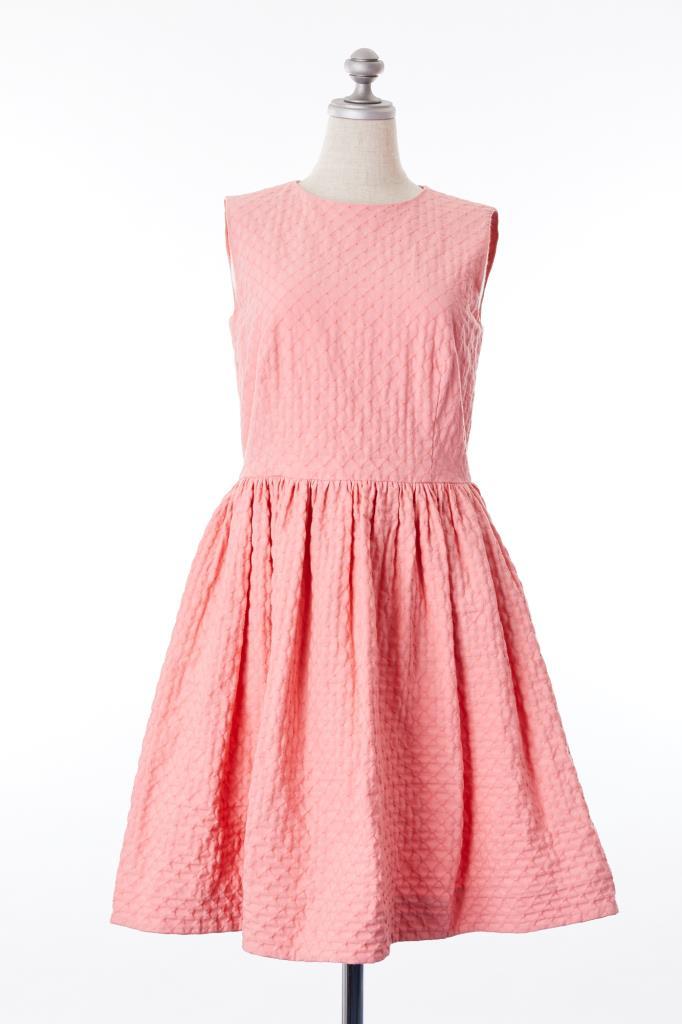 DR100190 RED VALENTINO ピンクドレス