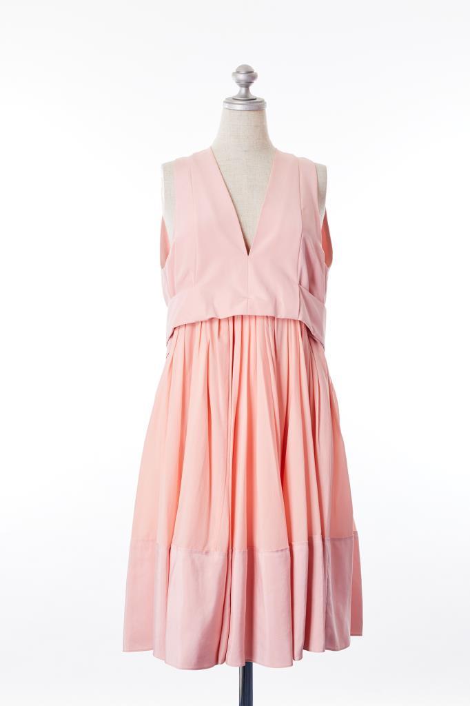 DR100192 BALENCIAGA ピンクドレス