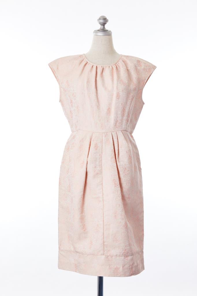 DR100193 FLICKA フレンチスリーブドレス