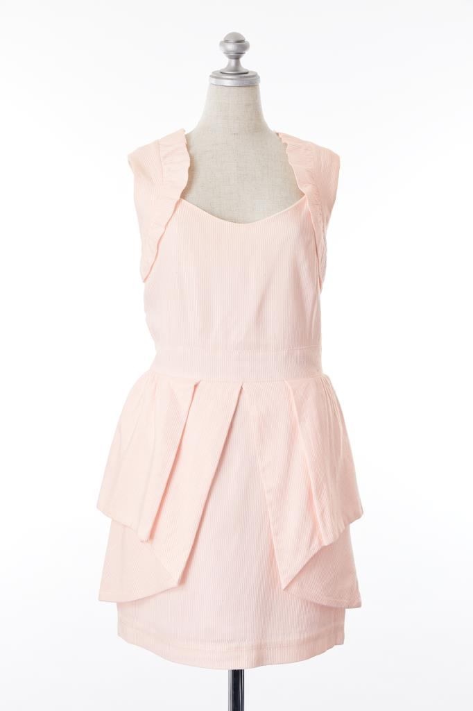 DR100194 MANOUSH ピンクドレス