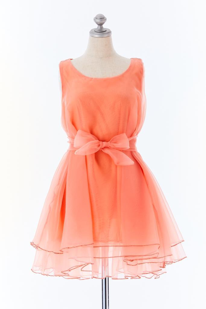 DR100494 オーガンジードレス
