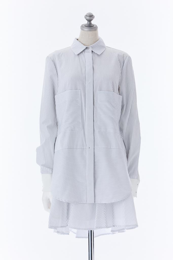 DR100536 DEREK LAM 10CROSBY ドレス