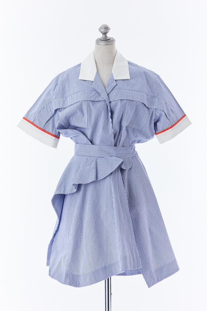 DR100546 CARVEN シャツドレス